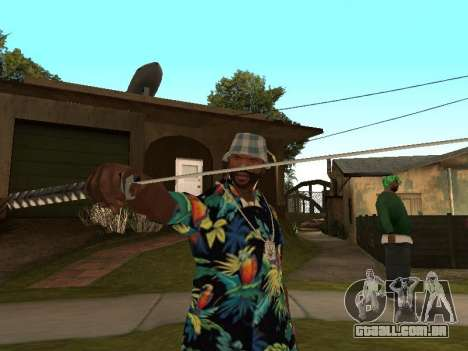 Pose gangster para GTA San Andreas segunda tela