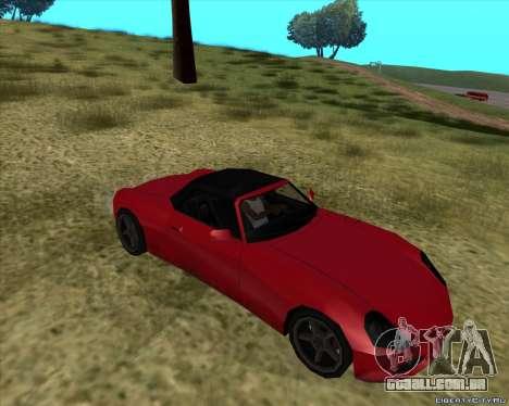 Stinger para GTA San Andreas vista traseira