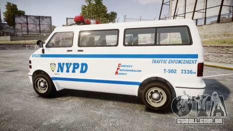 GTA V Bravado Youga NYPD para GTA 4 esquerda vista