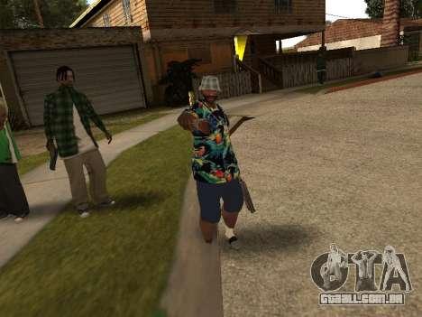 Pose gangster para GTA San Andreas