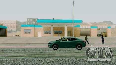 Novas texturas garagem em San Fierro para GTA San Andreas terceira tela