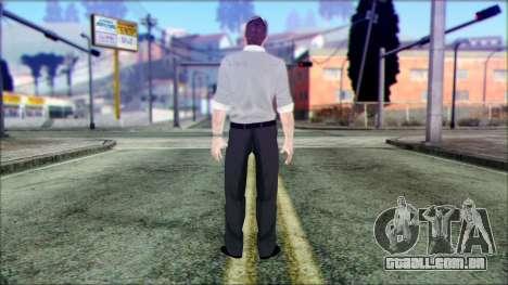 Shaun from Assassins Creed para GTA San Andreas segunda tela