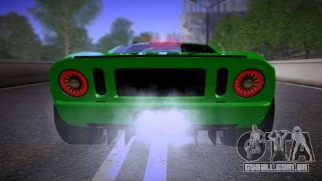 Ford GT 2005 Road version para GTA San Andreas vista interior
