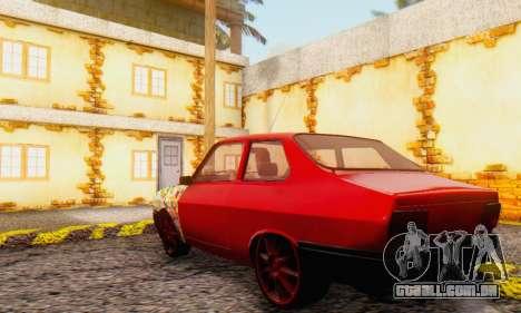 Dacia 1310 Sport Tuning v2 para GTA San Andreas vista direita
