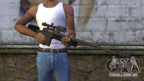 GTA 5 Sniper Rifle para GTA San Andreas terceira tela