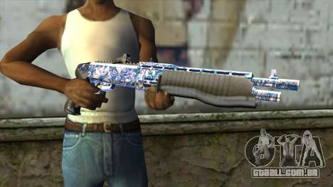 Graffiti Shotgun v2 para GTA San Andreas terceira tela