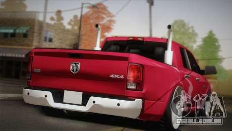 Dodge Ram 3500 para GTA San Andreas esquerda vista