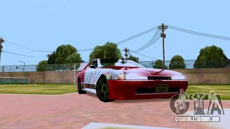 Elegy OnDrift para GTA San Andreas esquerda vista