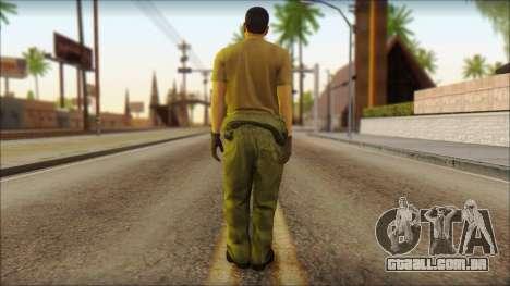 GTA 5 Soldier v1 para GTA San Andreas segunda tela