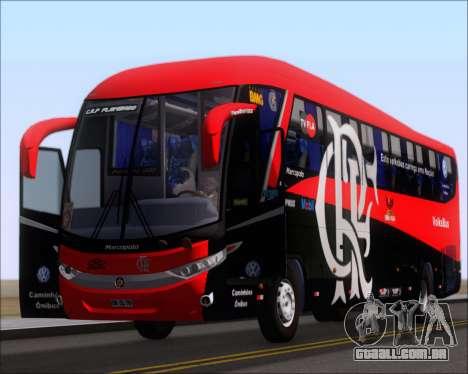 Marcopolo Paradiso 1200 G7 4X2 C.R.F Flamengo para GTA San Andreas vista interior