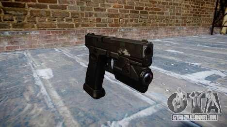 Pistola Glock de 20 fantasmas para GTA 4