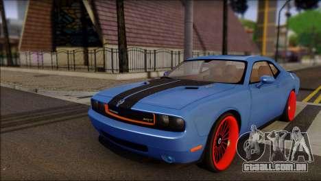 Dodge Challenger SRT8 Stance para GTA San Andreas