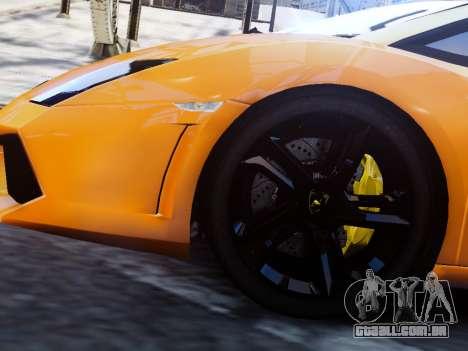 Lamborghini Gallardo LP560-4 para GTA 4 traseira esquerda vista