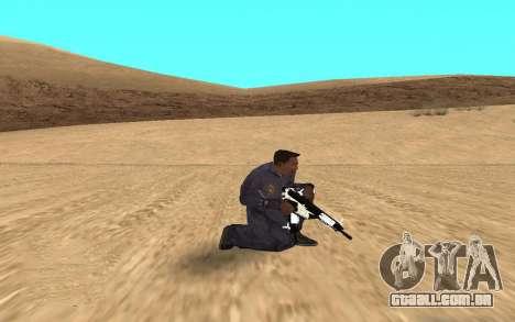 Chrome Weapon Pack by SampHack para GTA San Andreas terceira tela