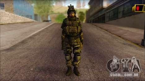 Soldados da UE (AVA) v1 para GTA San Andreas