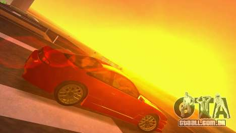 Nissan Silvia S14 RB26DETT Black Revel para GTA Vice City vista direita