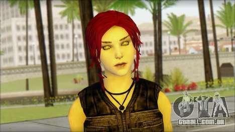 Tomb Raider Skin 14 2013 para GTA San Andreas terceira tela