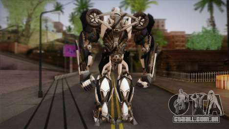 Bumblebee v3 para GTA San Andreas segunda tela