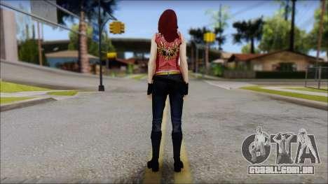 Claire Aflterlife Skin para GTA San Andreas segunda tela