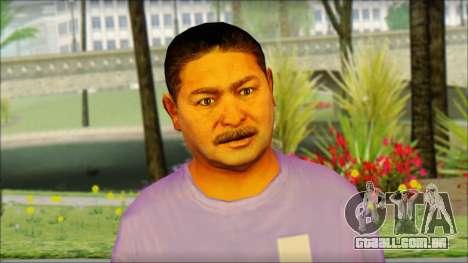 GTA 5 Ped 21 para GTA San Andreas terceira tela