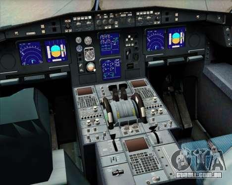 Airbus A340-313 Philippine Airlines para GTA San Andreas interior