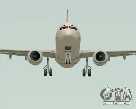Boeing 737-838 Qantas para GTA San Andreas vista interior