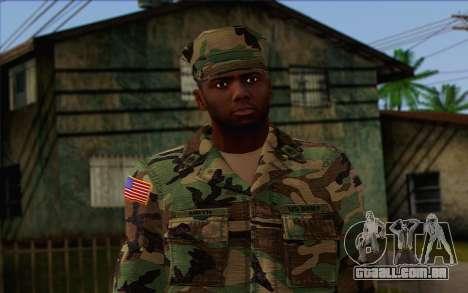 California National Guard Skin 3 para GTA San Andreas terceira tela