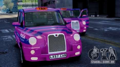 London Taxi Cab v1 para GTA 4