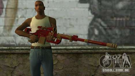Sniper Rifle from PointBlank v1 para GTA San Andreas terceira tela