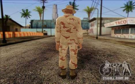 California National Guard Skin 1 para GTA San Andreas segunda tela