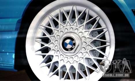 BMW M5 E28 para GTA San Andreas vista traseira