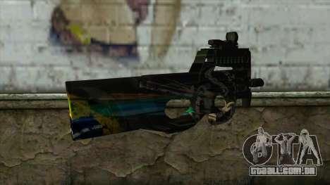 P90 from PointBlank v1 para GTA San Andreas segunda tela
