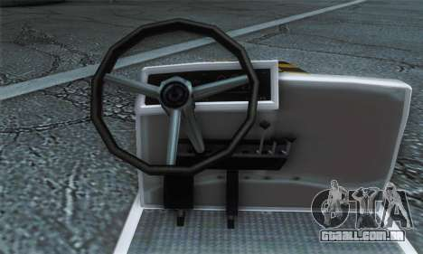 Airtug FlyUS (IVF) para GTA San Andreas traseira esquerda vista