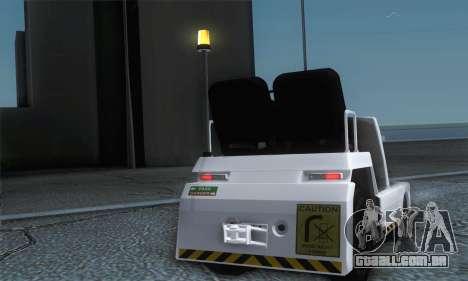 Airtug FlyUS (IVF) para GTA San Andreas vista direita