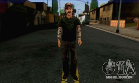 Kenny from The Walking Dead v1 para GTA San Andreas