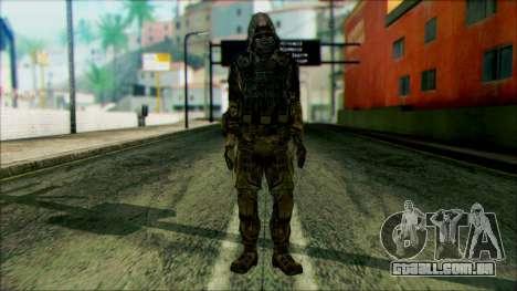 Um soldado da equipe de 4 Phantom para GTA San Andreas