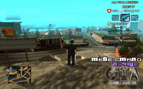 C-HUD by SampHack v.12 para GTA San Andreas terceira tela