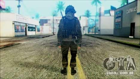 Soldados a bordo (CoD: MW2) v5 para GTA San Andreas segunda tela