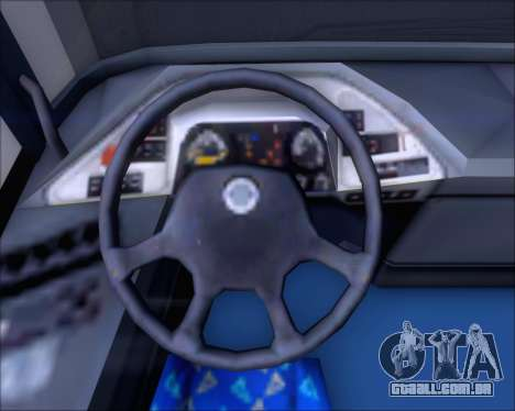 Neoplan Tourliner Emile Weber para GTA San Andreas vista superior