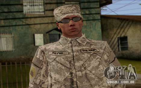 California National Guard Skin 4 para GTA San Andreas terceira tela