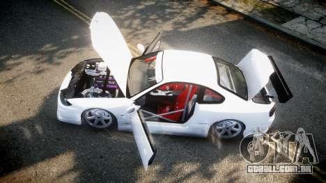 Nissan Silvia S15 para GTA 4 traseira esquerda vista