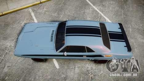 Dodge Challenger 1971 v2.2 PJ2 para GTA 4 vista direita