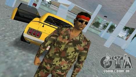 Camo Skin 09 para GTA Vice City