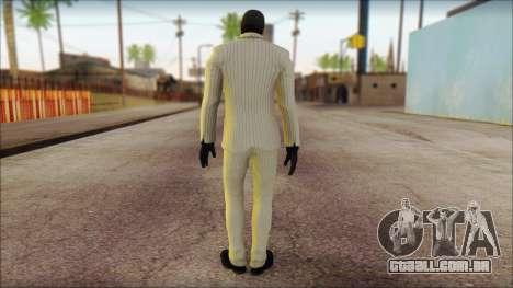 Black Mask From Batman: Arkham Origins para GTA San Andreas segunda tela