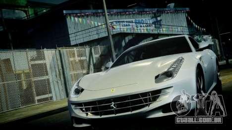Ferrari FF 2011 v1.5 para GTA 4 vista inferior