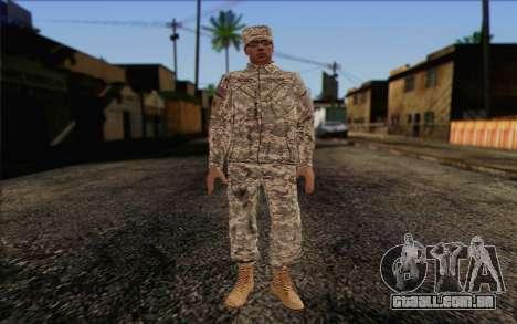 California National Guard Skin 4 para GTA San Andreas