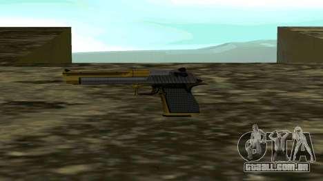Gold Deagle para GTA San Andreas segunda tela
