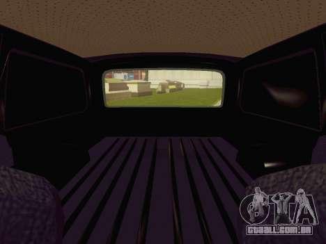 GÁS-24-12 carro funerário para GTA San Andreas vista traseira