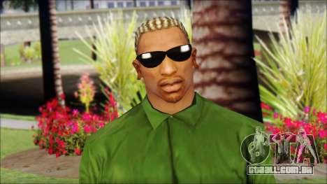 New CJ v2 para GTA San Andreas terceira tela