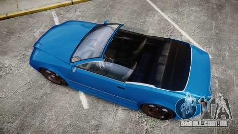 GTA V Enus Cognoscenti Cabrio para GTA 4 vista direita